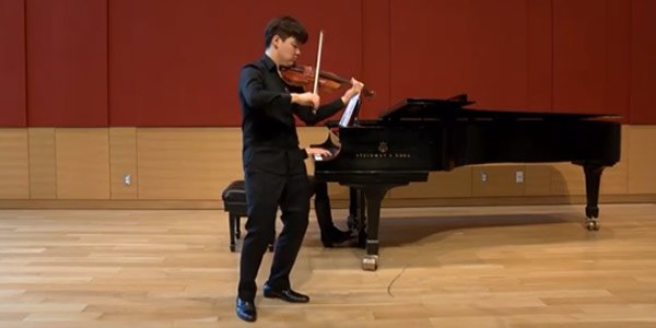 2020 GOLD MEDALIST & BACH PRIZE WINNER Dongyoung Jake Shim