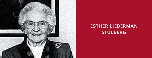 Esther Lieberman Stulberg